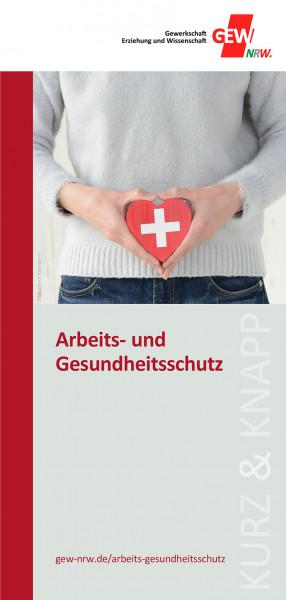"""Flyer """"Arbeits- und Gesundheitsschutz"""" (50 Stück)"""