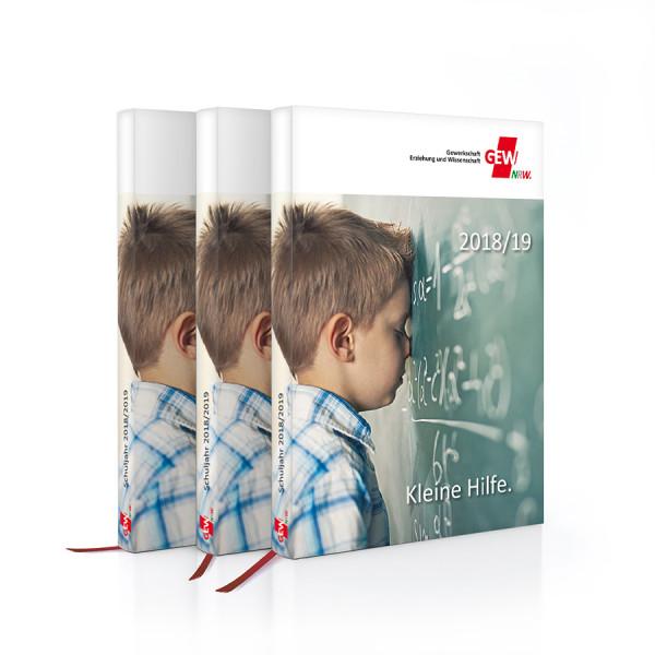 GEW-Taschenkalender mit Lesebändchen 2018/2019