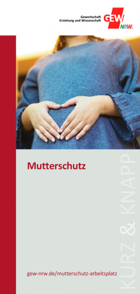 """Flyer """"Mutterschutz"""" (50 Stück)"""