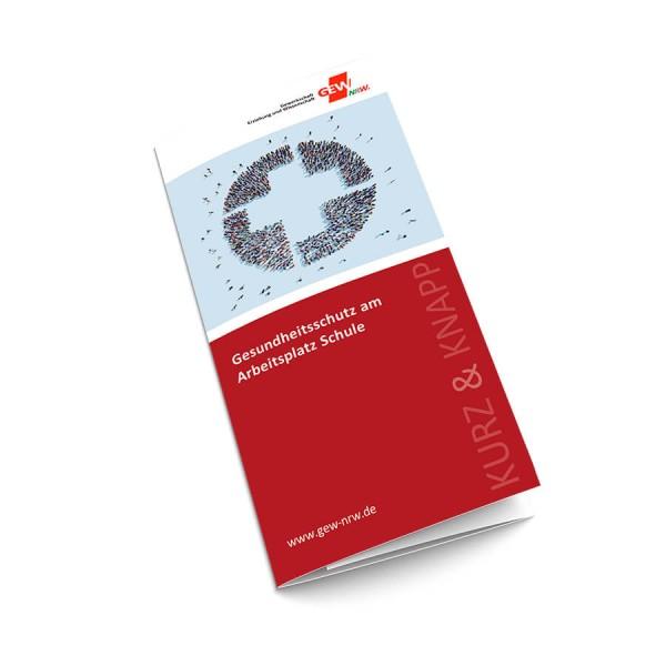"""Flyer """"Gesundheitsschutz am Arbeitsplatz Schule"""" (50 Stück)"""