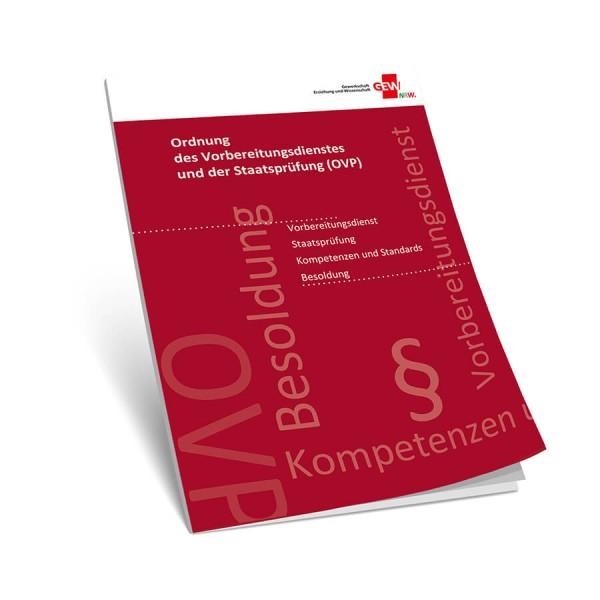 OVP - Ordnung des Vorbereitungungsdienstes und der Staatsprüfung (20 Stück)